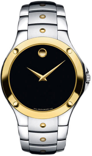 4e41fc70bd3 Movado Sport Edition 0605910 Watch Click to Enlarge. Movado 0605910. Movado  0605910 Mens Watch Sport Edition S.E. Two Tone Black Museum Dial