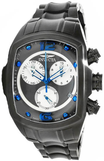 Invicta  Invicta 1687 Lupah Revolution Chronograph Stainless Steel