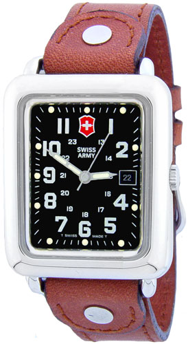 Swiss army 24308 mens watch cavalry rectangular strap for 24308