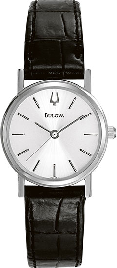 Bulova Dress Watch with Leather Strap 96L104
