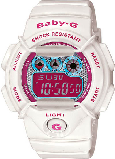 casio baby g instructions