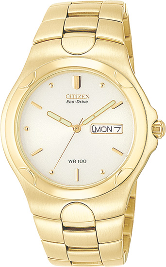 Citizen Corso Eco Drive Gold Tone BM8082-53P