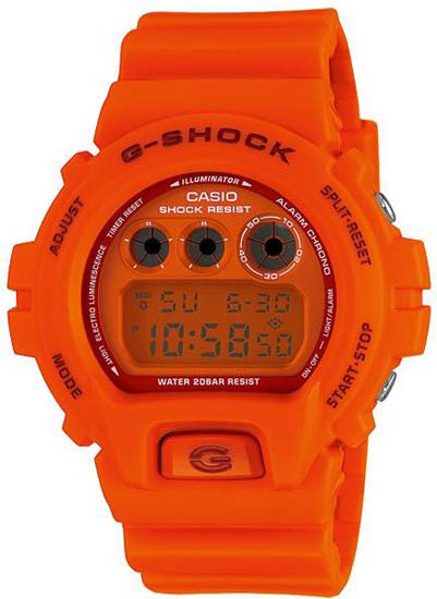 how to clean g shock orange