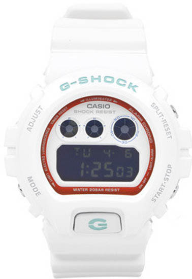 Casio DW6900SN-7CR White Resin G-Shock Classic Digital Dial Strap at Sears.com