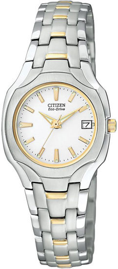 Citizen Two Tone White Dial EW1254-53A