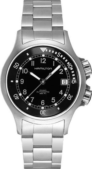 Hamilton h77515133 mens watch khaki navy diver automatic for Hamilton dive watch