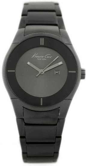 Kenneth Cole Black Aluminum Black Dial KC4714