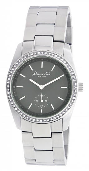 Kenneth Cole Stainless Steel Quartz Charcoal Dial KC4721