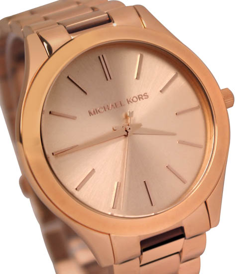 a69c78456bf Michael Kors MK3197 Ladies Watch Rose Gold Tone Stainless Steel Case ...