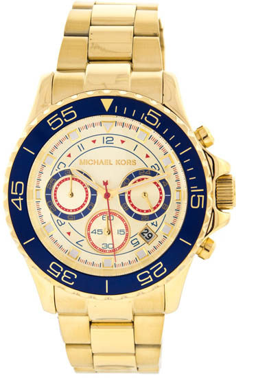 how to change date on michael kors watch