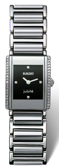 Rado Ceramic Jubile Diamond Mini Black Dial R20430732