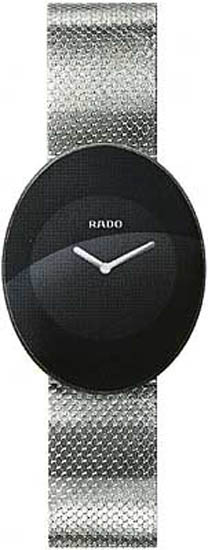 Rado Stainless Steel Quartz Black Dial R53491153
