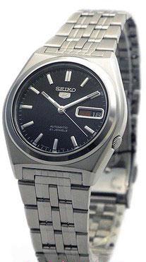 Seiko 5 Automatic Dress Watch Black Dial