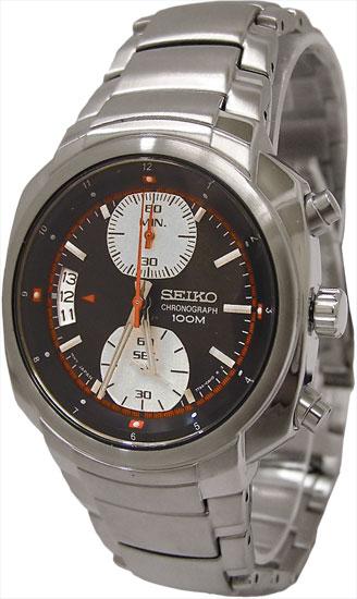 seiko snn039 mens watch stainless steel chronograph gray dial