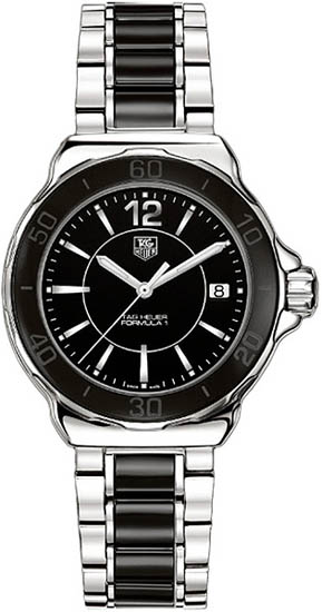 Tag Heuer Stainless Steel Black Ceramic Formula 1 Quartz WAH1210BA0859