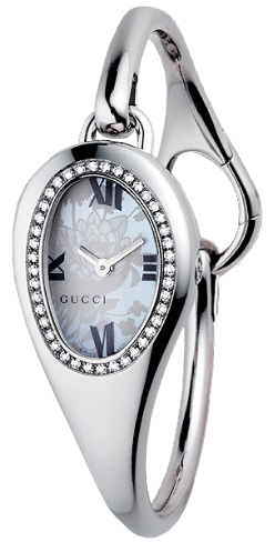 Gucci Horsebit 103 Series Floral Dial Large Petite Bangle YA103529