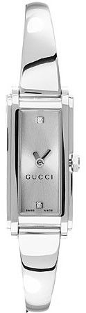 Gucci 109 Series Silver Dial with Diamonds YA109519