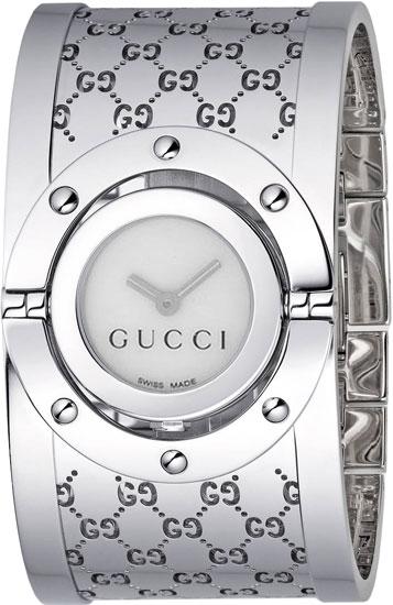 12d721b6504 Gucci YA112413 Ladies Watch Series 112 Twirl Bangle Style Wide ...