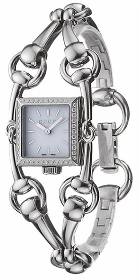 Gucci Signoria Mother of Pearl Dial Diamonds YA116513