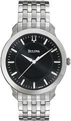 Bulova 96A134 Mens Watch Stainless Steel Case and Link Bracelet Class>
