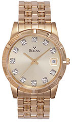 Bulova Dress 97F43 Watch