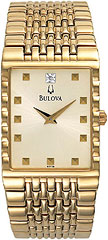 Bulova Dress 97F58 Watch