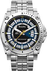 Bulova 96B131 Mens Watch Stainless Steel Precisionist Champlain Quart>