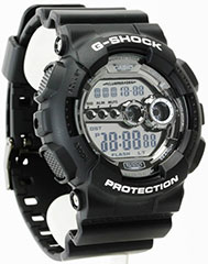 Casio G-Shock GD100BW-1A Watch