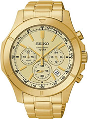 Seiko Chronograph SSB112 Watch